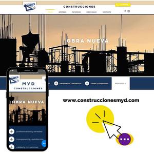 DISEÑO WEB EN TOLEDO: CONSTRUCCIONES MYD