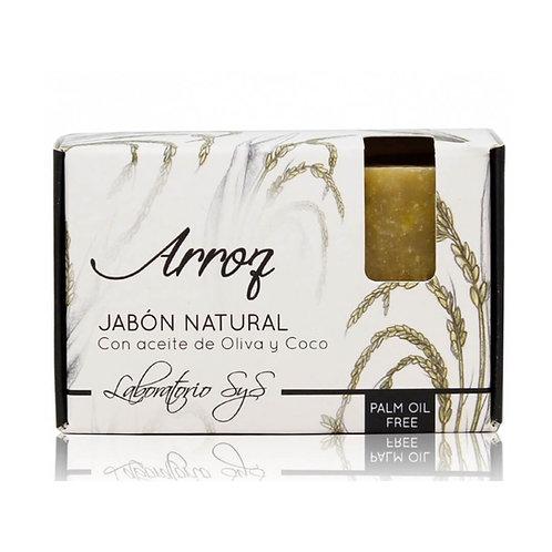 Jabón Natural Arroz 100gr