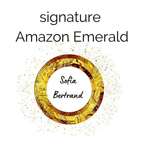 Signature Amazon Emerald
