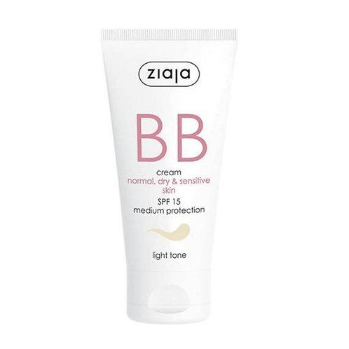 BB Cream pieles normales,secas y sensibles SPF15 Tono Claro 50ml