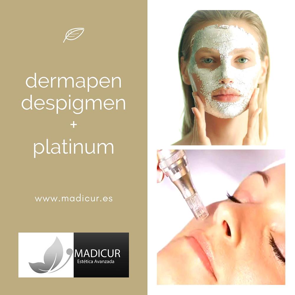 Tratamiento Dermapen Despigmen + Platimun