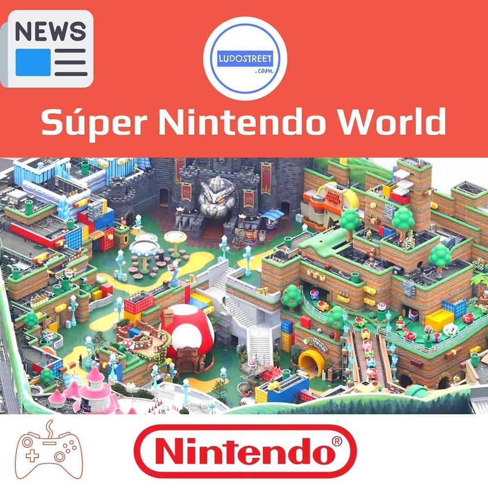 Super Nintendo World Pronto Abrirá sus Puertas