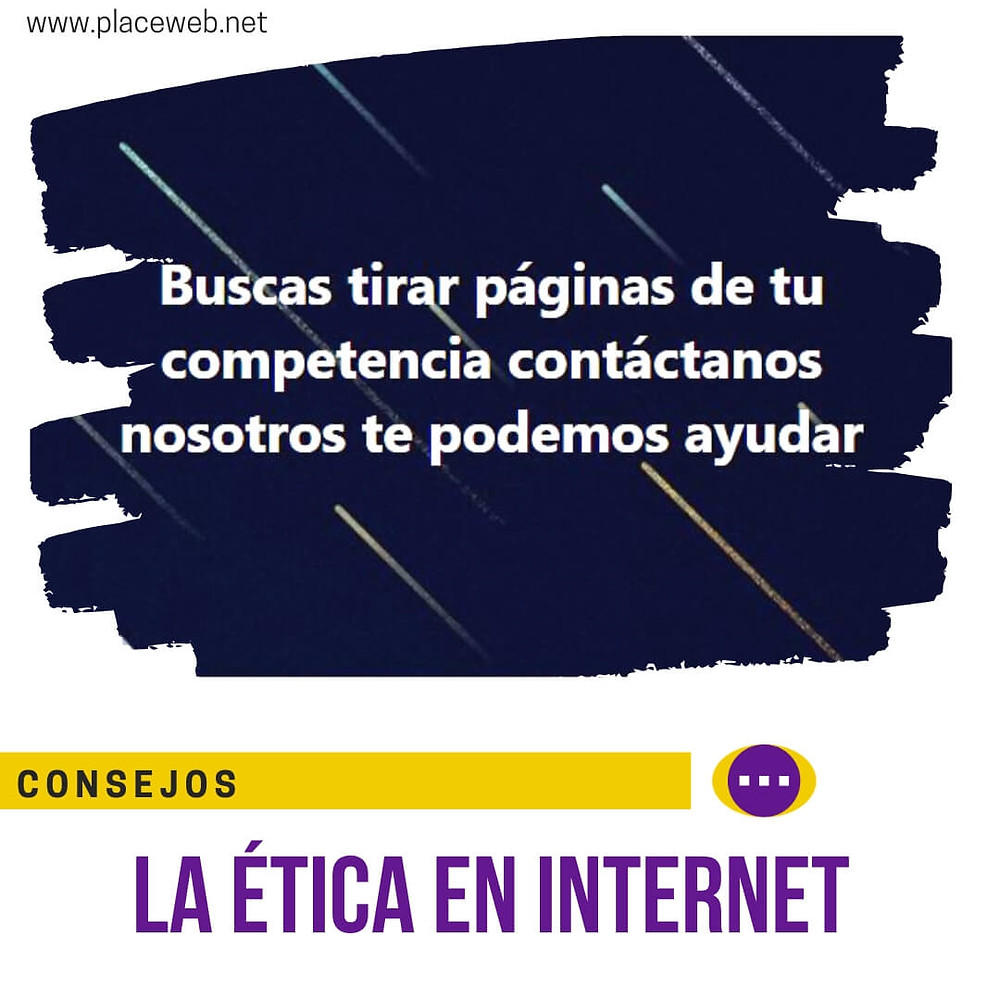 La Ética en Internet