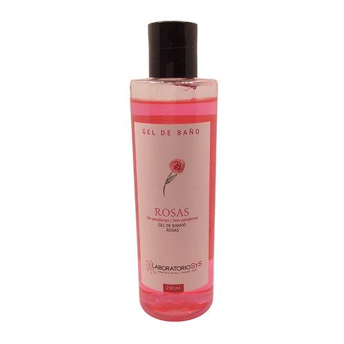 Gel de baño Rosas 250ml