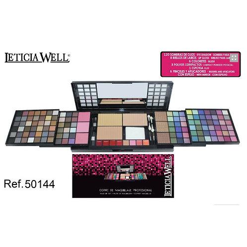 Cofre de Maquillaje Profesional Pink Ref:50144