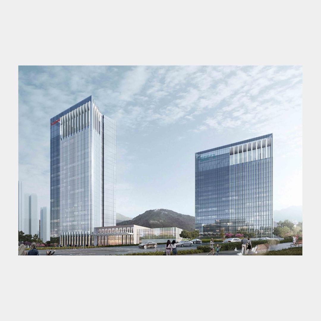 The Jinjaing Marriott and Farifield Inn