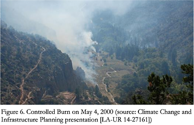 Controlled burn on May 4, 2000 Santa Fe National Forest