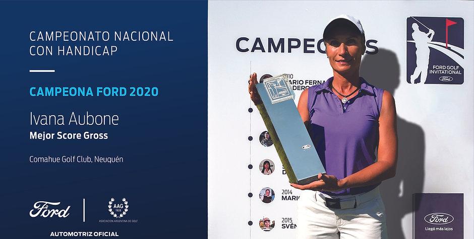 Campeona Ford 2020 - Campeonato Nacional