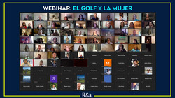 Más de 150 participantes tuvo el Webinar: El Golf y la Mujer organizado por The R&A.