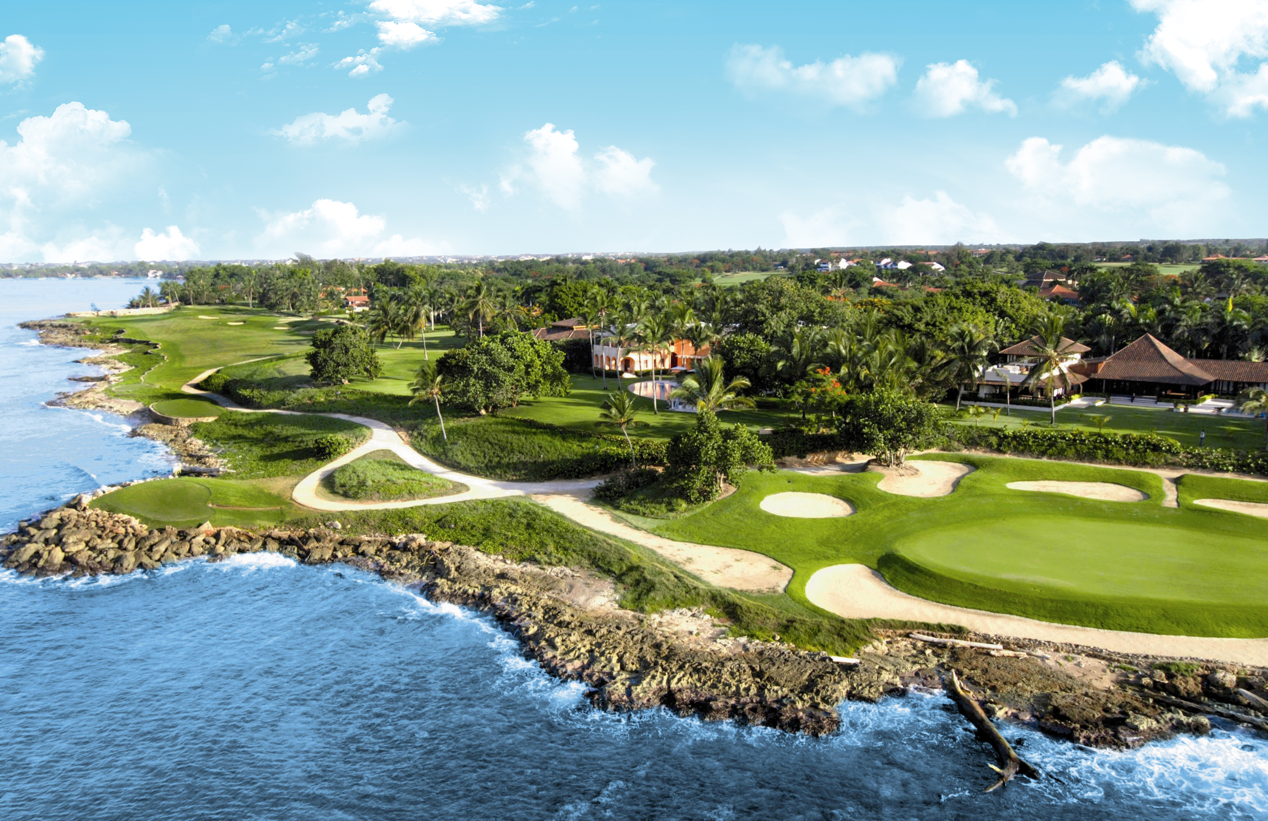 Teeth of the Dog es la gema de Casa de Campo y es el campo de golf número 1 del Caribe.