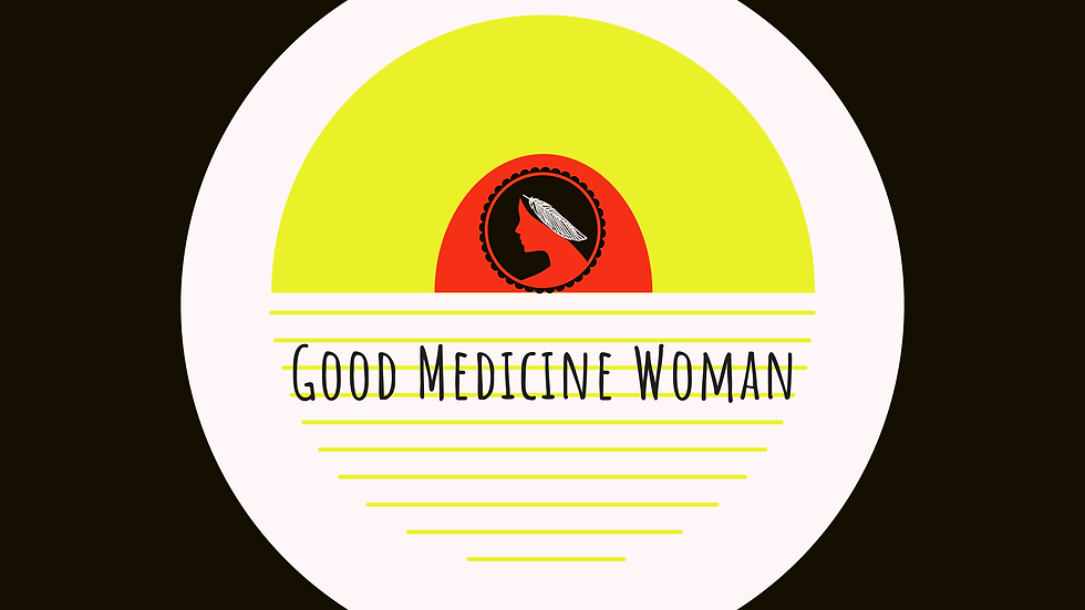Good Medicine Woman Sticker