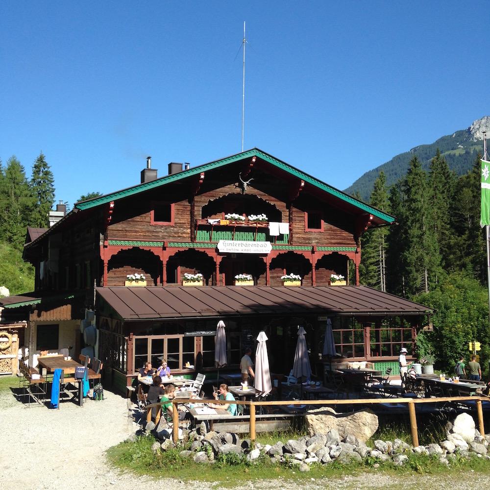 Hüttenwandern