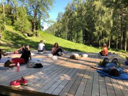 Wandern und Yoga