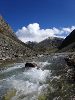 Wir durchwandern wunderschöne Landschaften