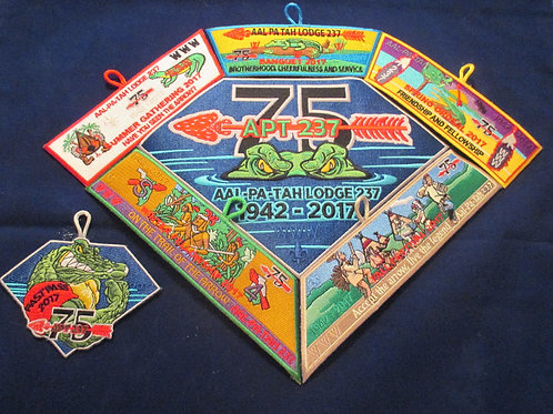 Aal-Pa-Tah 2017 75th Anniversary Yearly Set