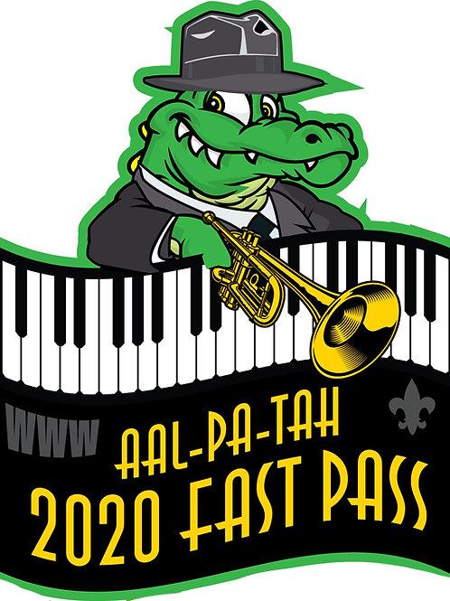 Fast Pass 2020