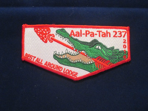 Aal-Pa-Tah 2016 Best All Around Lodge Flap