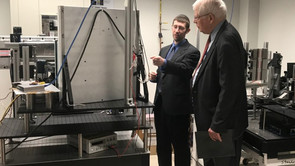 Briefing Rep. Price about in-development XRD technology