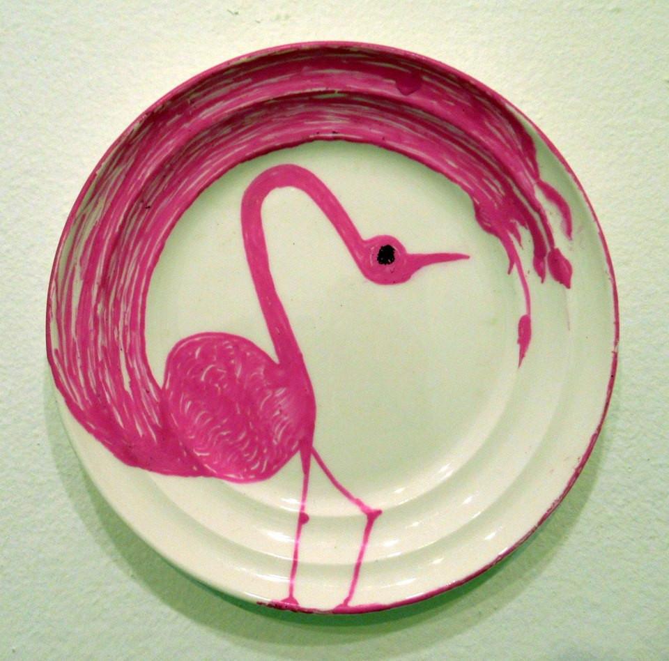 My favorite gay flamingo