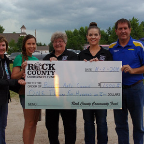 Rock County Community Fund Grants $7,700 to Local Entities