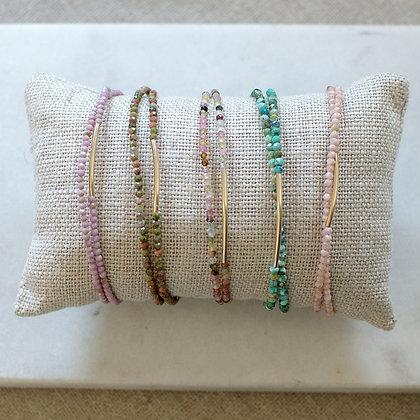 bracelet DOUBLE -plusieurs couleurs-