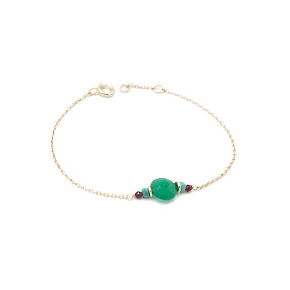bracelet PIERRE vert