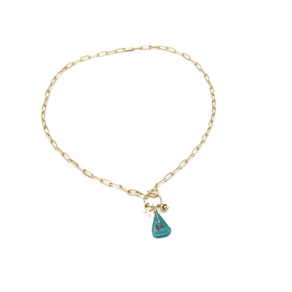 collier MARCEAU turquoise