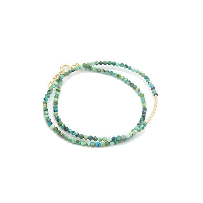 bracelet DOUBLE turquoise