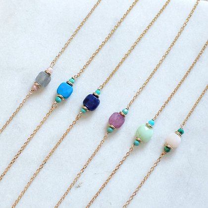 bracelet PIERRE -plusieurs couleurs-
