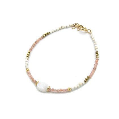 bracelet EIVISSA rose