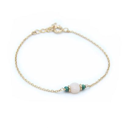 bracelet PIERRE opale rose