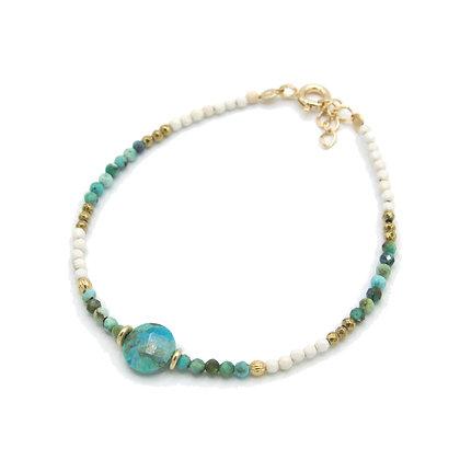 bracelet EIVISSA turquoise
