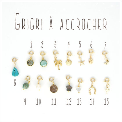 GRIGRI A ACCROCHER