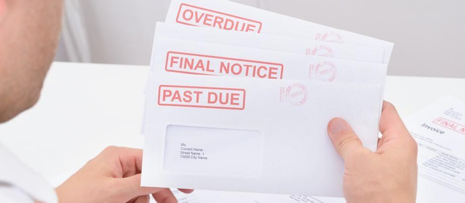Final demand letters.