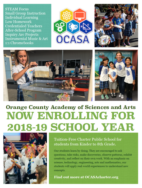 Now Enrolling for the 2018-19 School Year!  Apply today