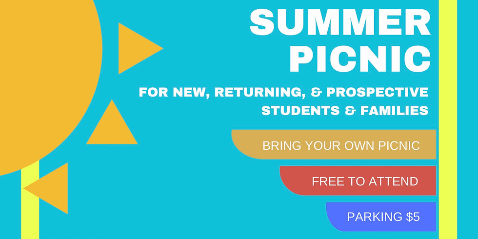 OCASA PTSA Annual Summer Picnic