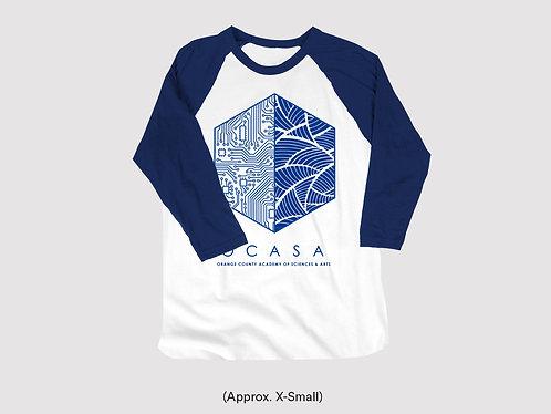 Split Hexagon Raglan Shirt - Youth