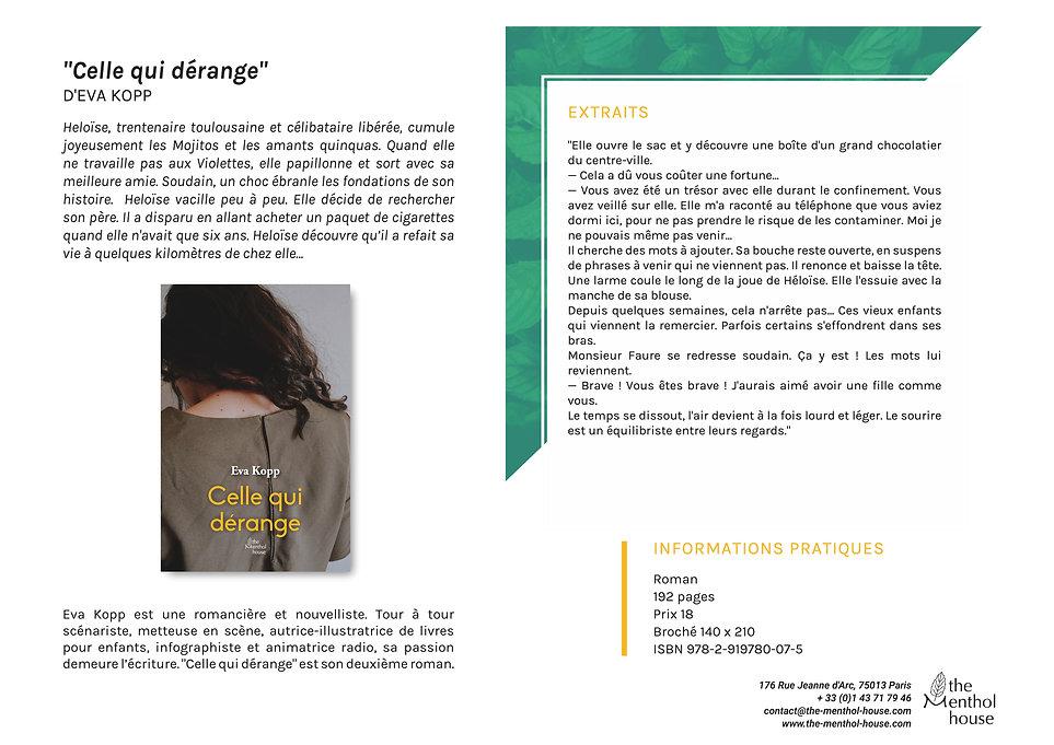 Celle_qui_dérange,_Eva_Kopp,_collectio