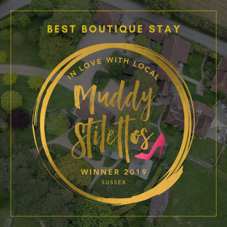 Fair Oak Farm wins 'Best Boutique Stay' in Sussex 2019