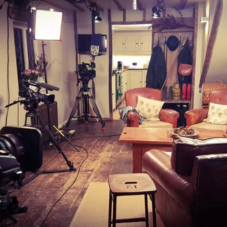 BBC1 Filming new show at Fair Oak Farm