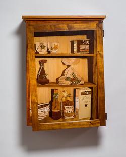 Koa Wall Cabinet