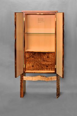 Curly Koa Cabinet