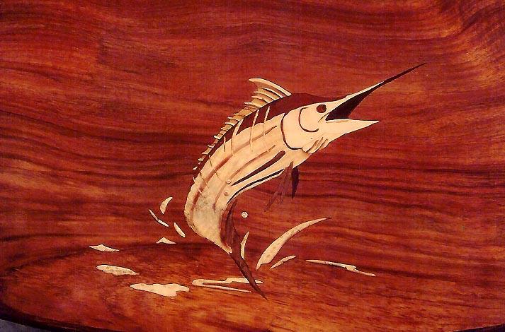 Marlin Marquetry