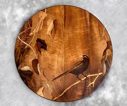 Koa Bird Side Table