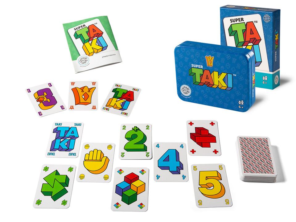 טאקי - משחק קלפים של חיים שפיר