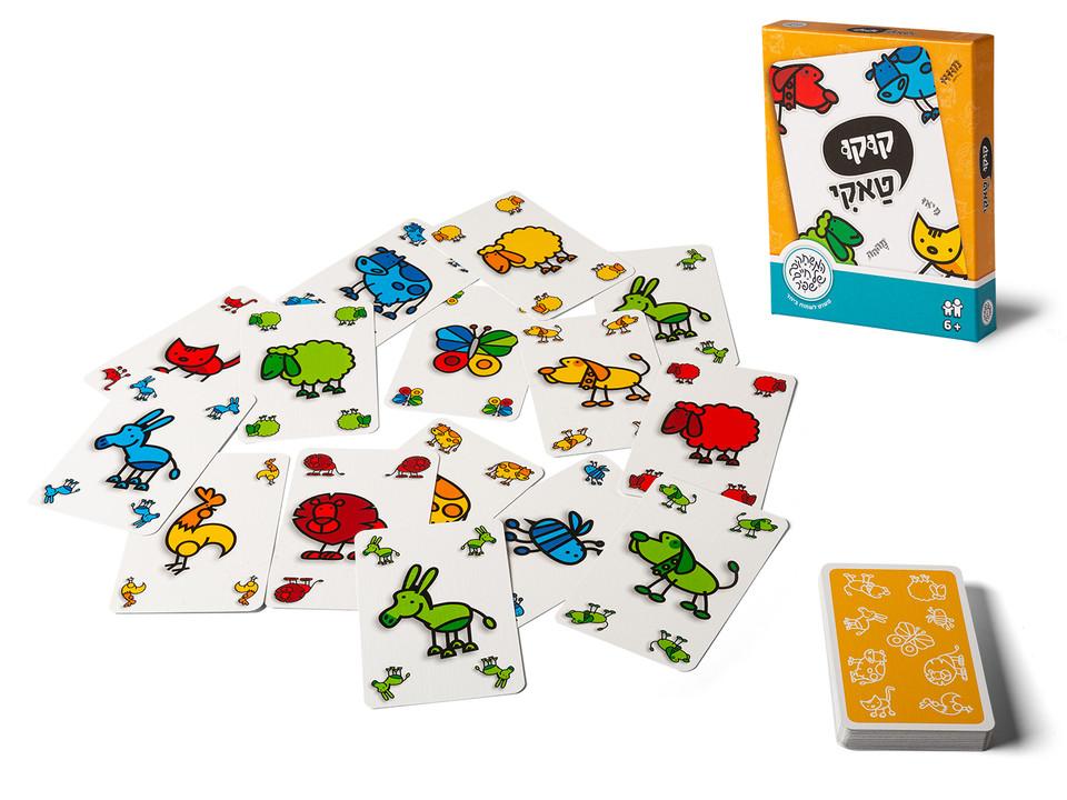 קוקו טאקי - משחק קלפים של חיים שפיר