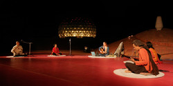 At Matrimandir Amphitheatre