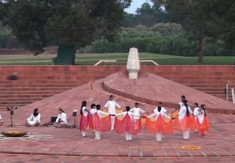 At the Amphitheatre, Auroville
