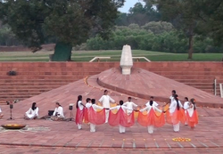 At the Amphitheatre, Auroville