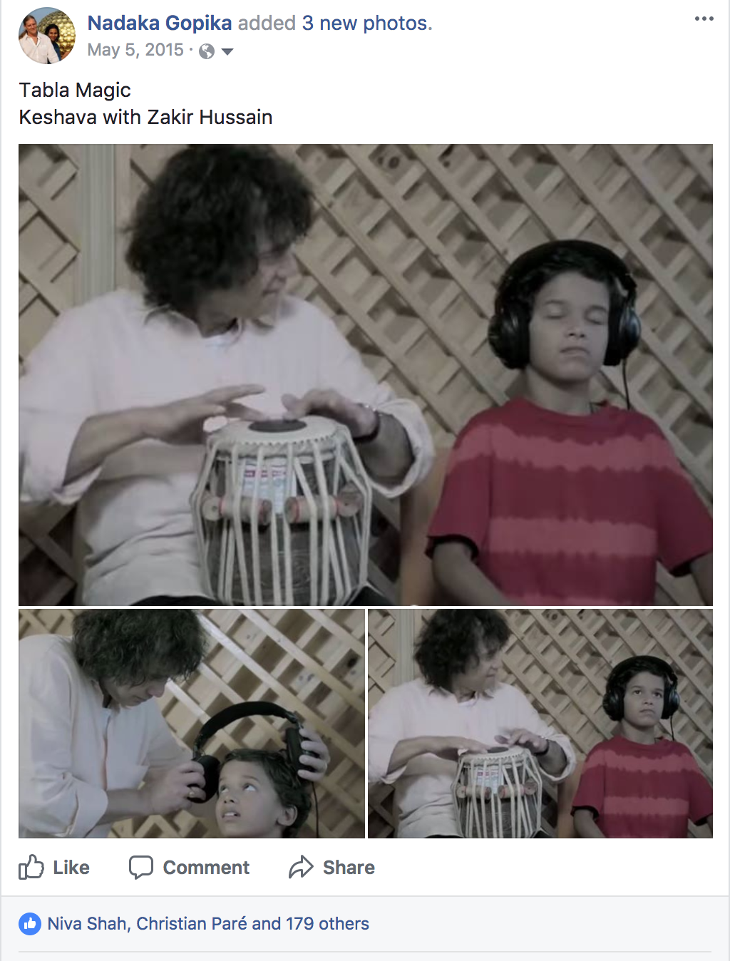 Zakir Hussain with Keshava